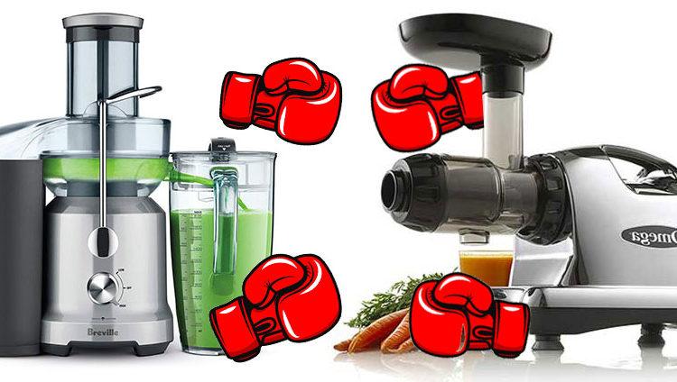 Masticating Juicers Vs Centrifugal Juicers